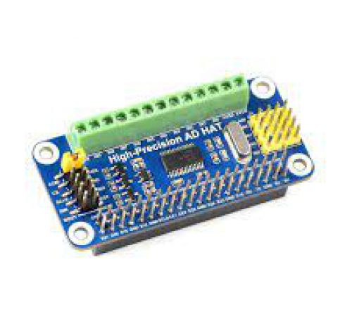 High-Precision AD HAT For Raspberry Pi
